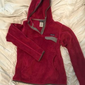 Patagonia Fleece Hooded Pullover